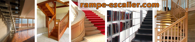 rampe d 39 escalier balustrade garde corps main courante. Black Bedroom Furniture Sets. Home Design Ideas